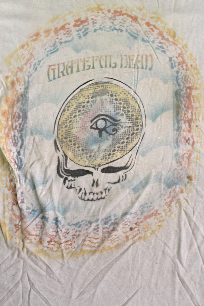 Vintage 70's 80's Grateful Dead Fan Art Eye of Horus T-Shirt