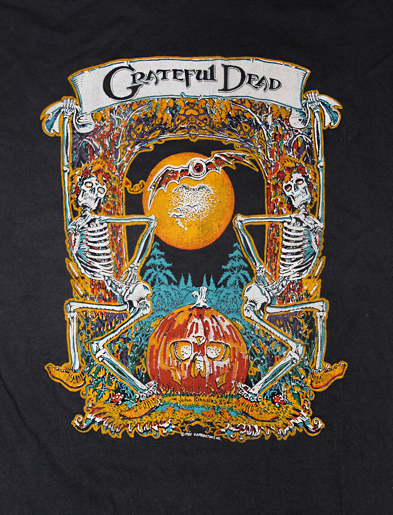 Vintage 80's Grateful Dead John Kinnard Art T-Shirt