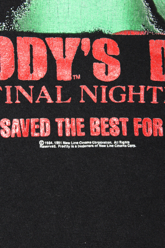 Vintage 90's Freddy's Dead Movie T-shirt