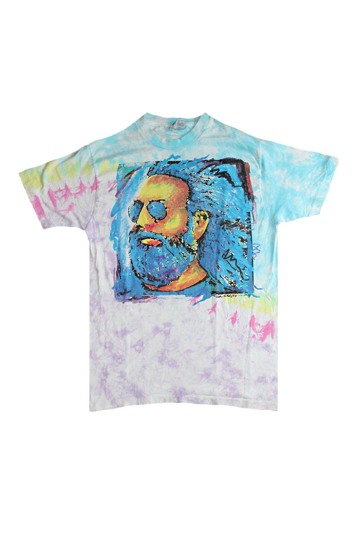 jerry band garcia vintage 1991 t-shirt