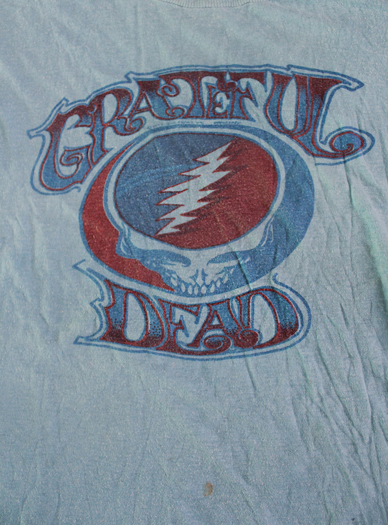 Vintage 70's Grateful Dead Steal Your Face T-Shirt