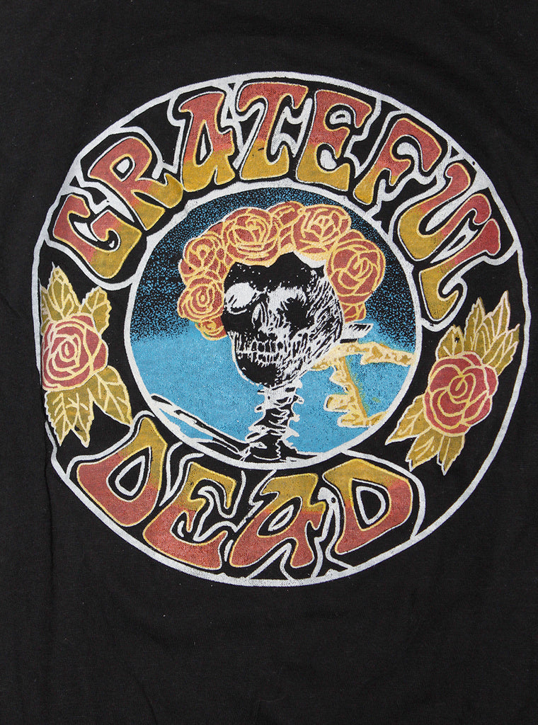 Vintage Deadstock 80's Grateful Dead Ringer T-Shirt