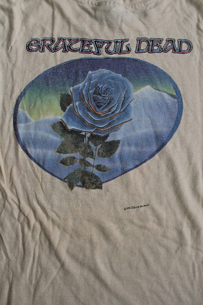 Vintage 70's Grateful Dead Skull & Roses Kelley Mouse T-Shirt