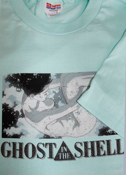Vintage 90 S Deadstock Ghost In The Shell Anime T Shirt Sold Afterlife Boutique