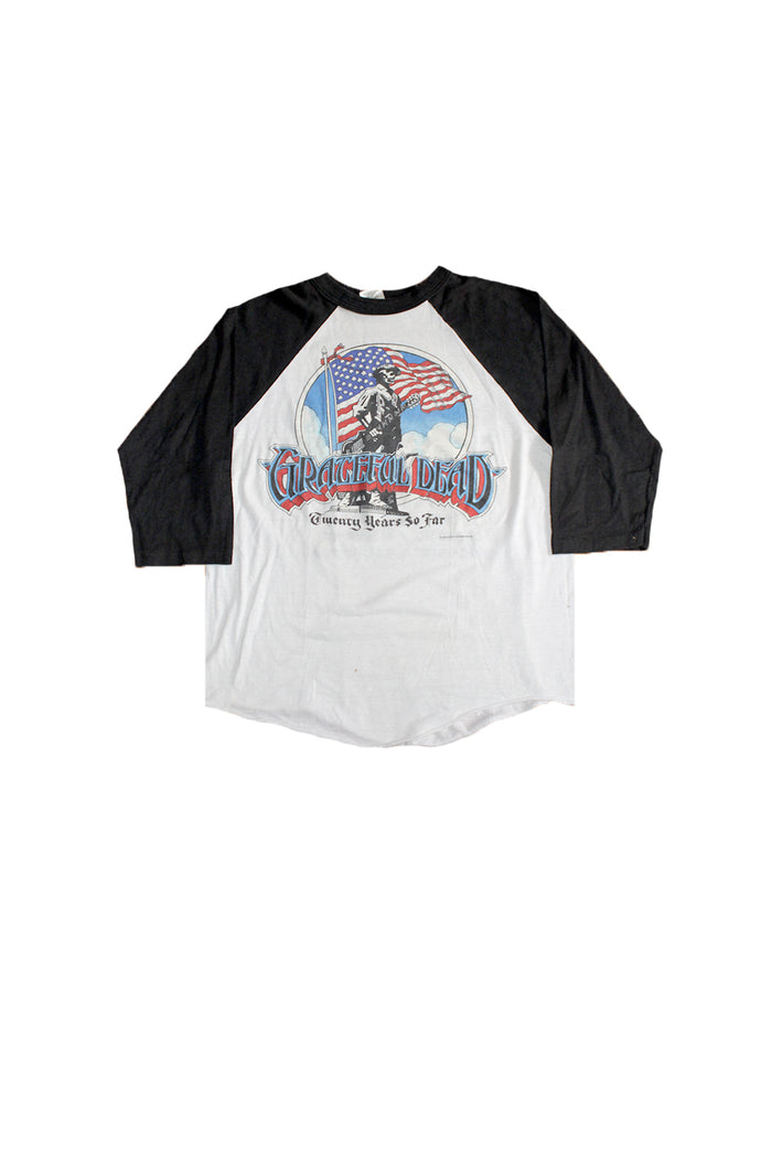 Vintage 80's Grateful Dead Twenty Years So Far T-Shirt