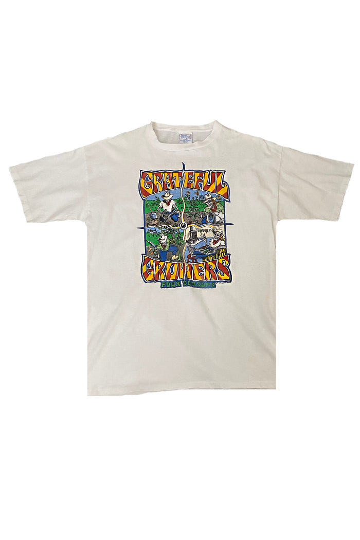 weed growers grateful dead t-shirt vintage