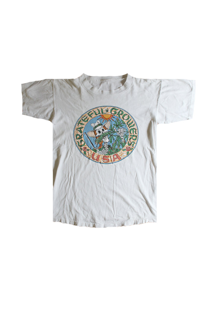 vinatge grateful dead weed t-shirt pot growers