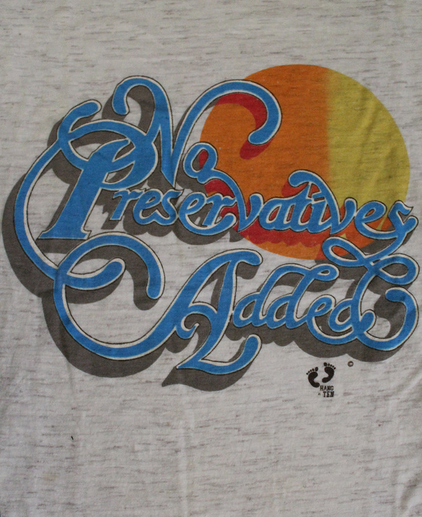 Vintage 70's Hang Ten No Preservatives Added T-Shirt