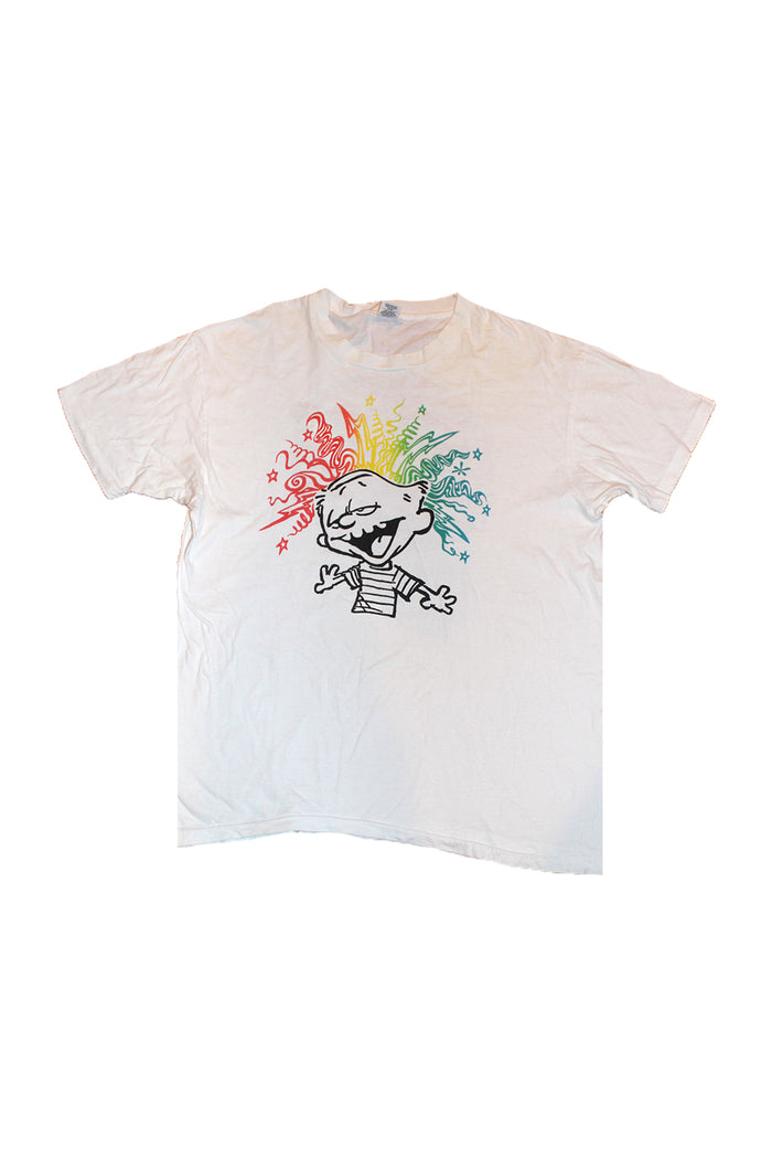 Vintage 90's Grateful Dead Calvin And Hobbes T-Shirt