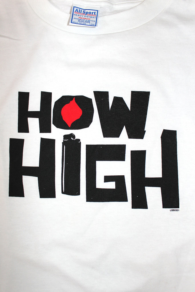 Vintage 2001 Deadstock HOW HIGH Movie Shirt ///SOLD///