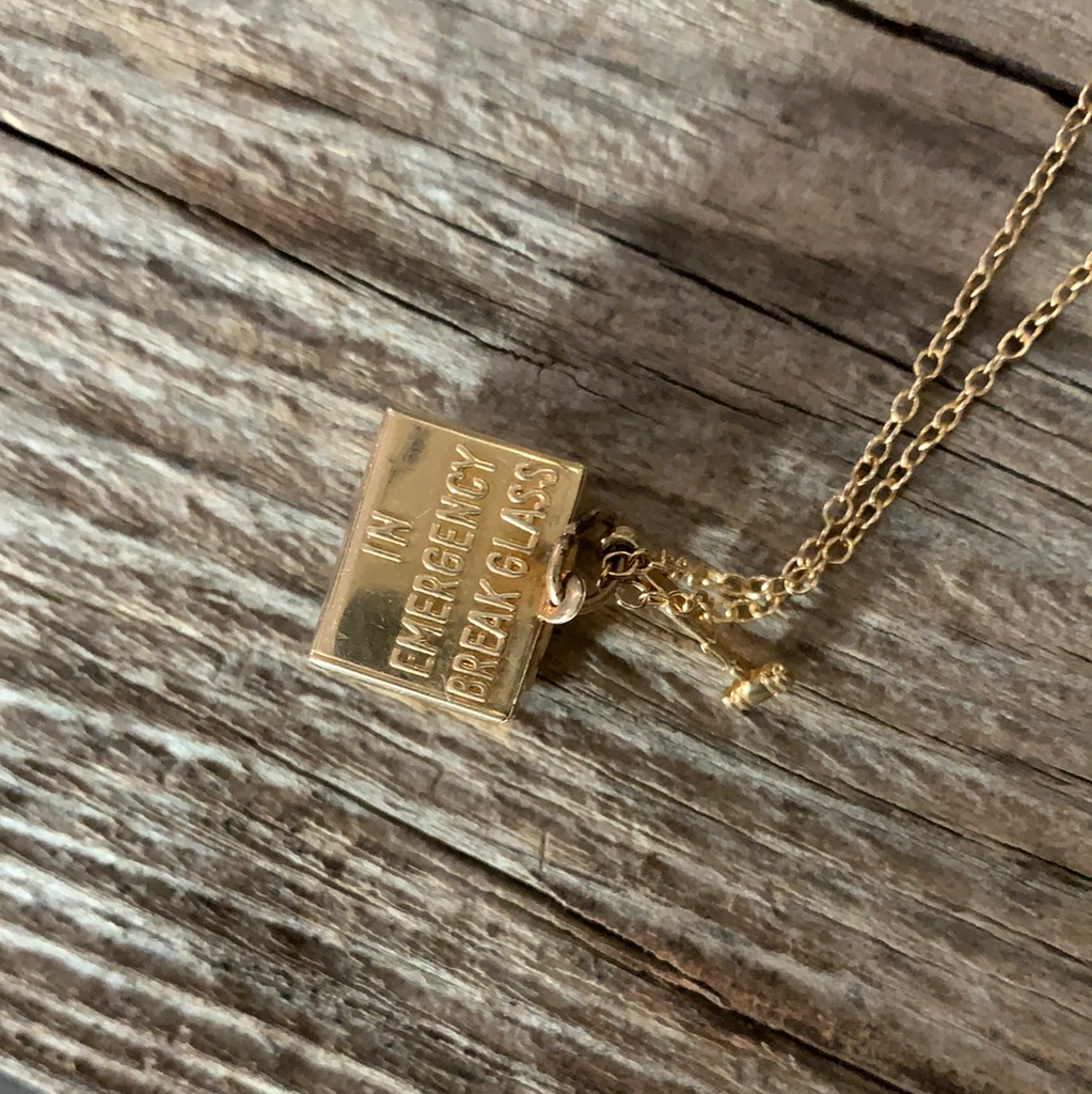 Vintage 1950's Mad Money 14k Gold Necklace