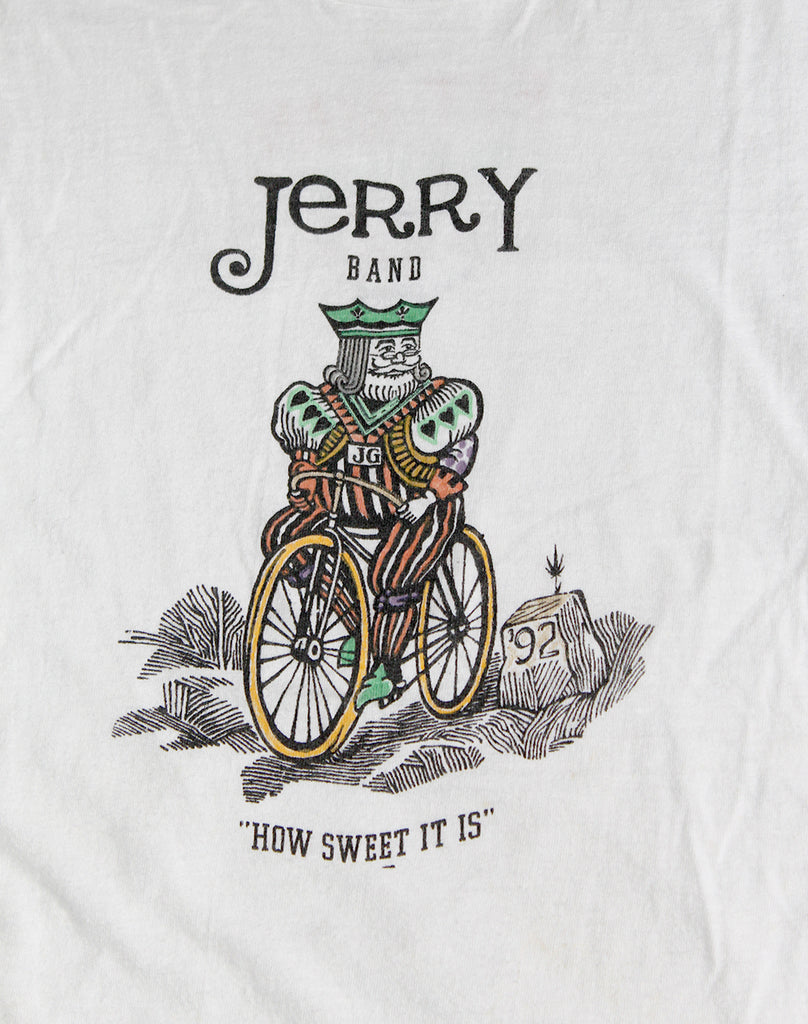 Vintage 90's Jerry Garcia Band How Sweet It Is T-Shirt