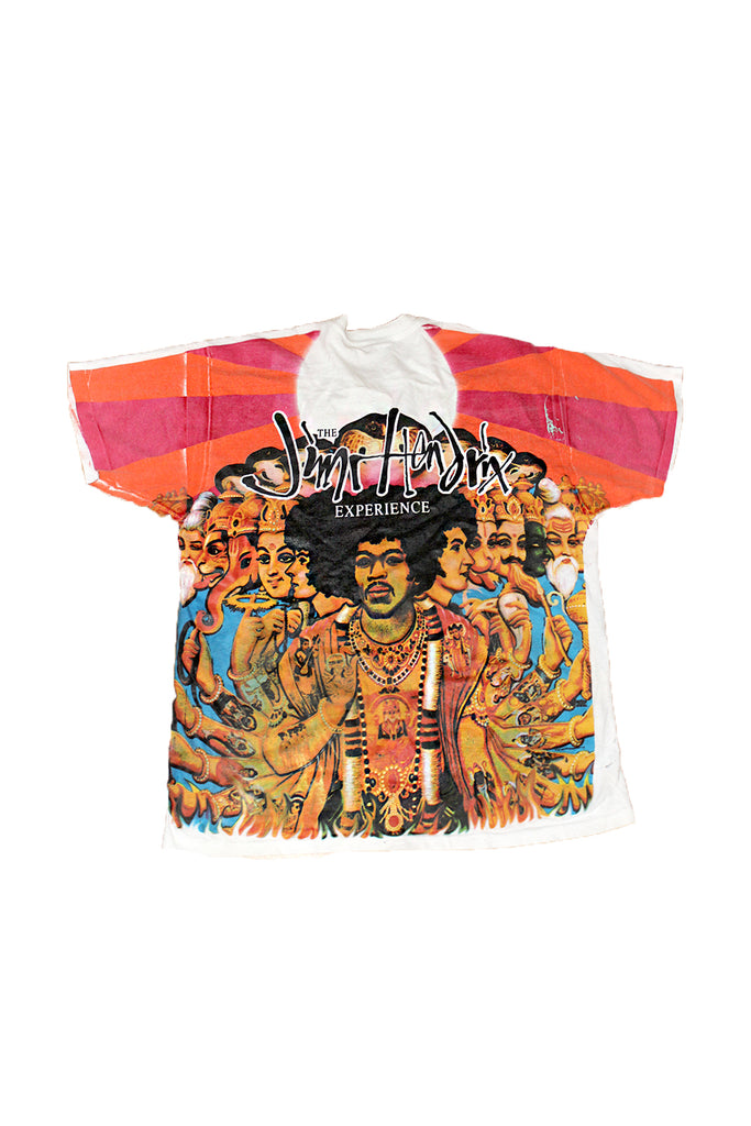 Vintage 90's Jimi Hendrix-Experience- All Over Print T-shirt