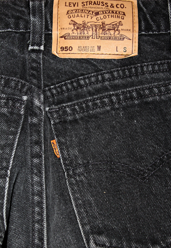 Vintage 90's LEVI'S 950 Orange Tab Relaxed Fit 27""