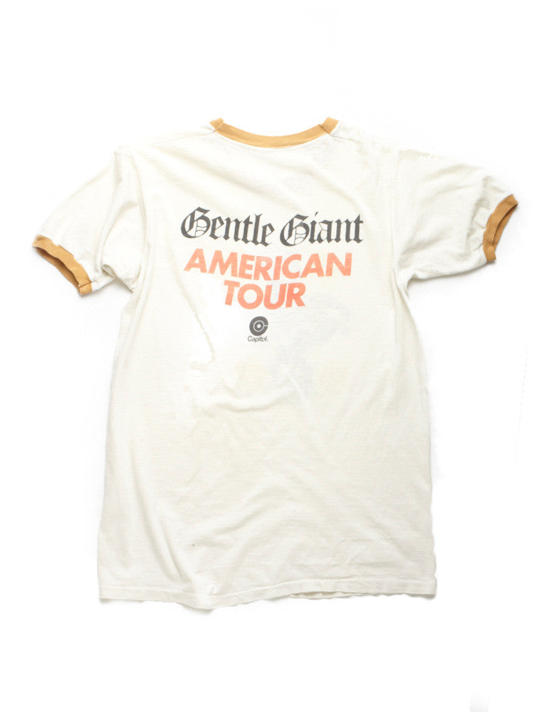 Gentle Giant American Tour Vintage T-Shirt 1974