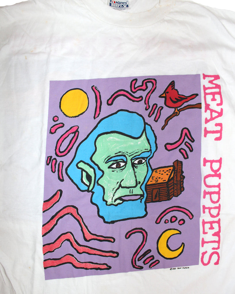 Vintage Deadstock 90's Meat Puppets T-Shirt ///SOLD///