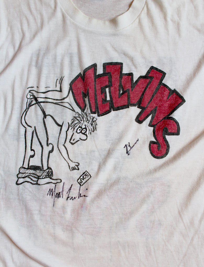 Vintage Early 80's Melvins One Of A Kind Art by Matt Lukin T-Shirt