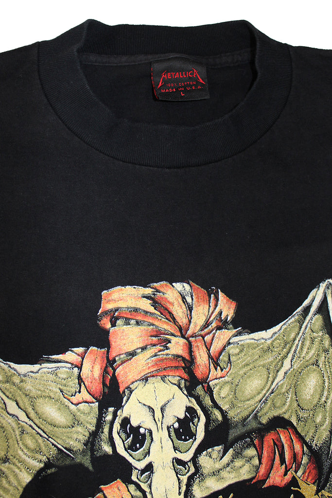 Vintage 90's Metallica Pushead 1992 T-Shirt