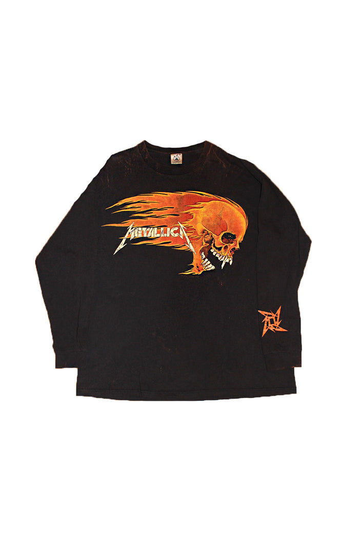 Vintage 90's Metallica Pushead Long Sleeve T-shirt