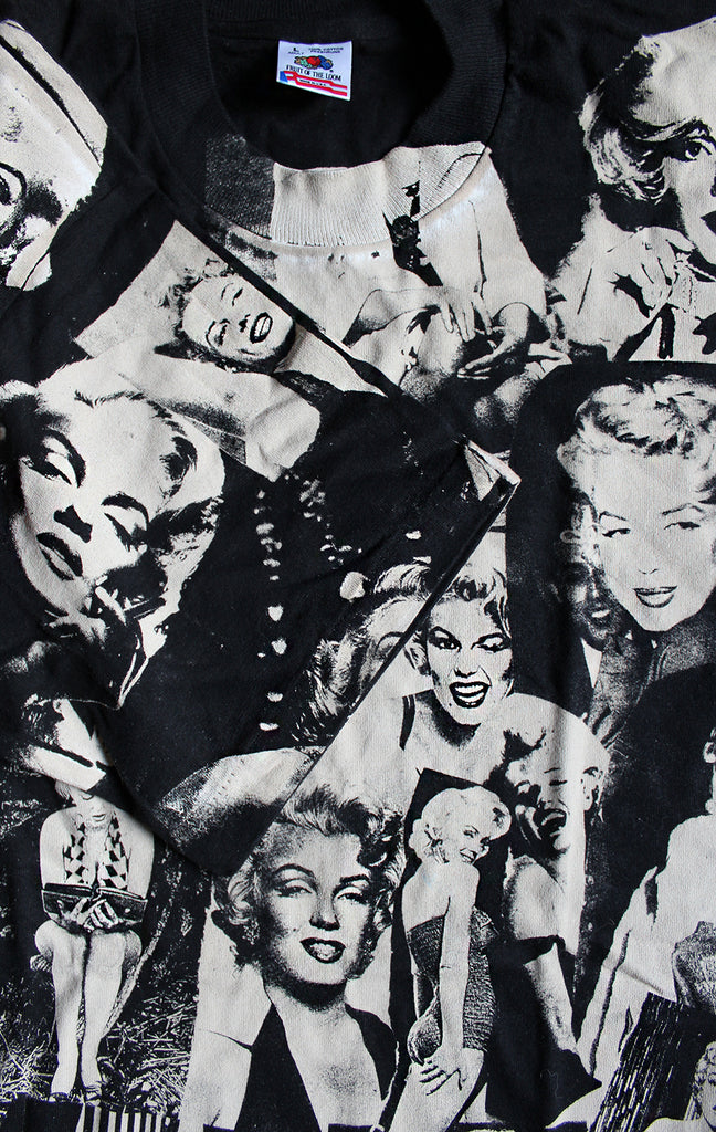 Vintage 90's Deadstock Marilyn Monroe All Over Print T-Shirt