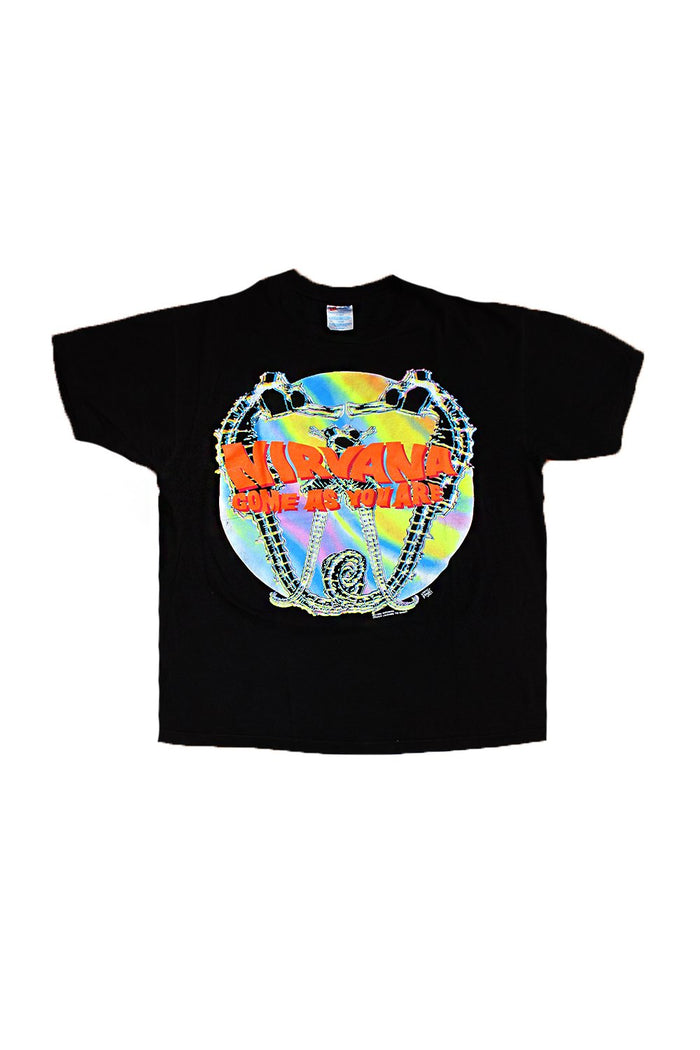 nirvana come as you are vintage t-shirt