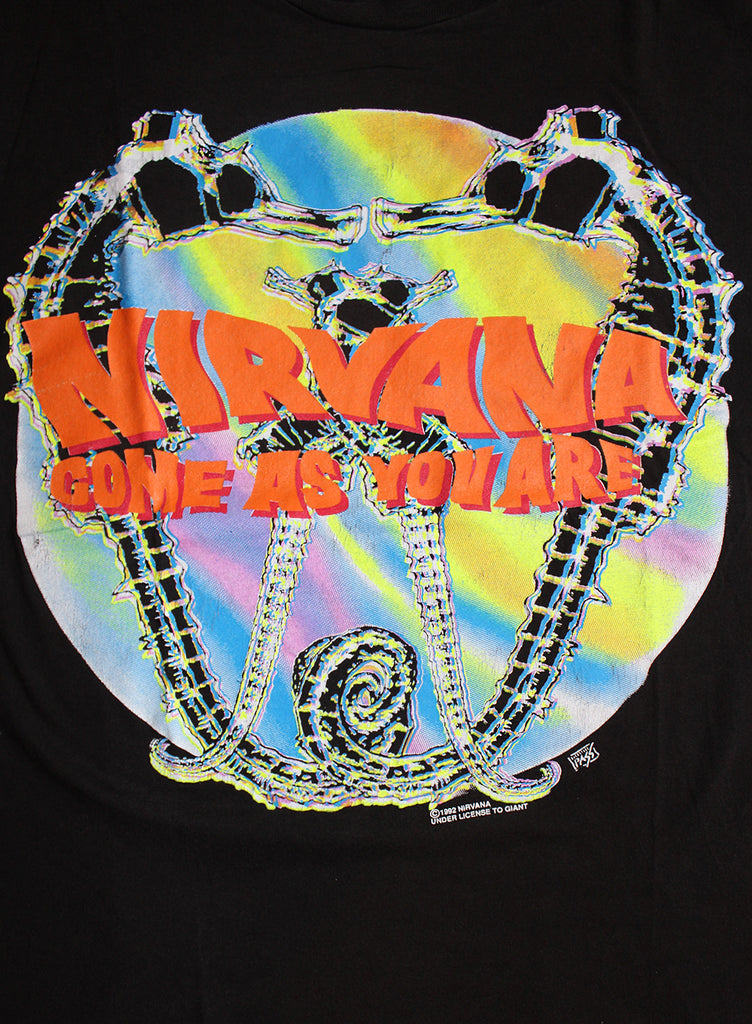 Vintage 90's Nirvana Come As You Are T-shirt ///SOLD///