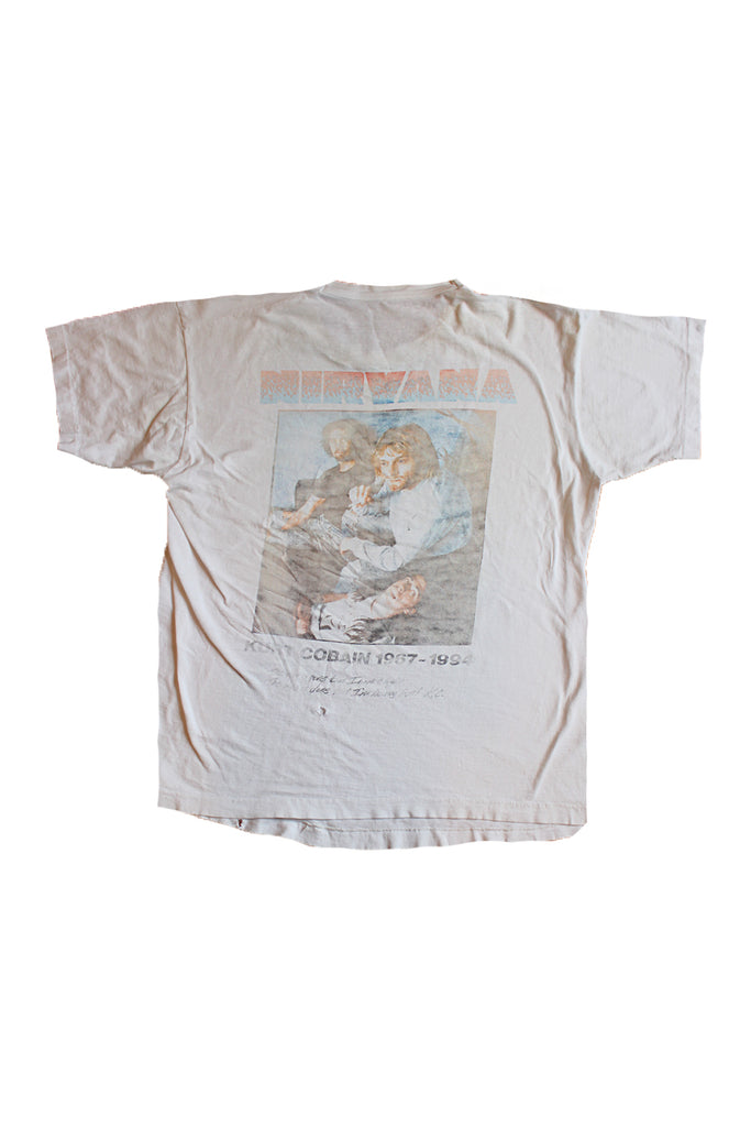 Vintage 90's Rare Nirvana In Utero Memorial T-Shirt ///SOLD///