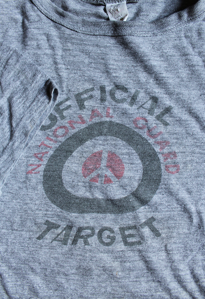 Vintage 60's Kent State Peace Student Protest T-shirt