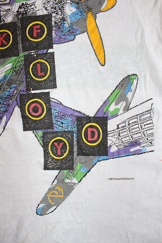 Vintage 80's Pink Floyd World Tour T-shirt