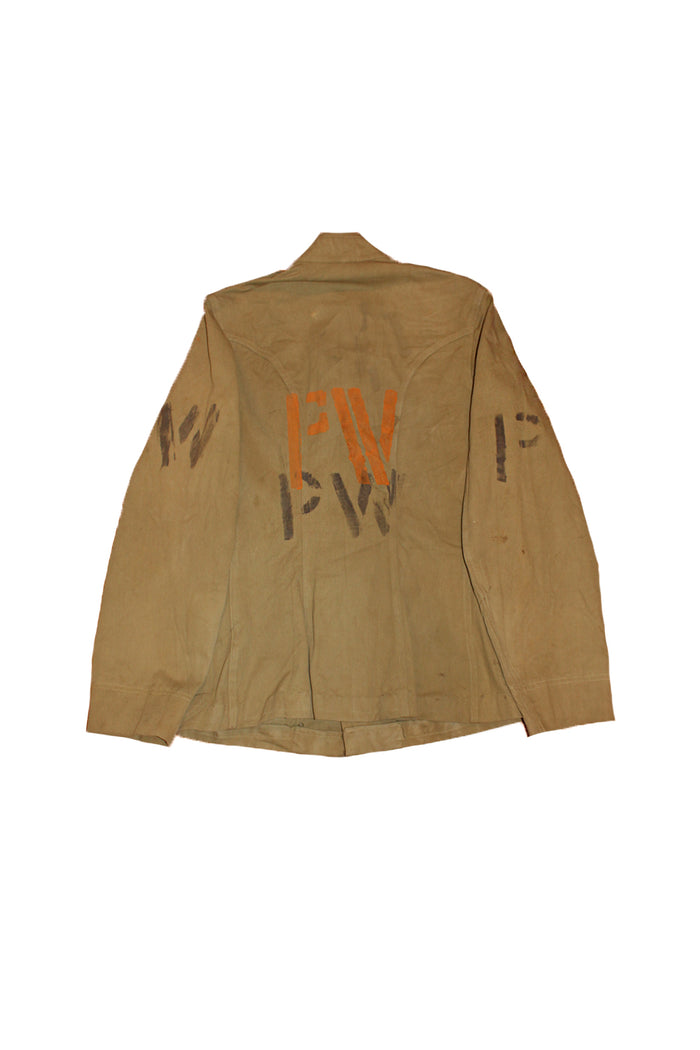 prisoner of war jacket WWII POW