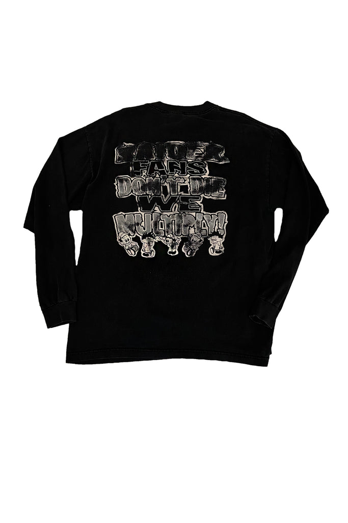 Vintage Grateful Dead Oakland Raiders Long Sleeve T-Shirt