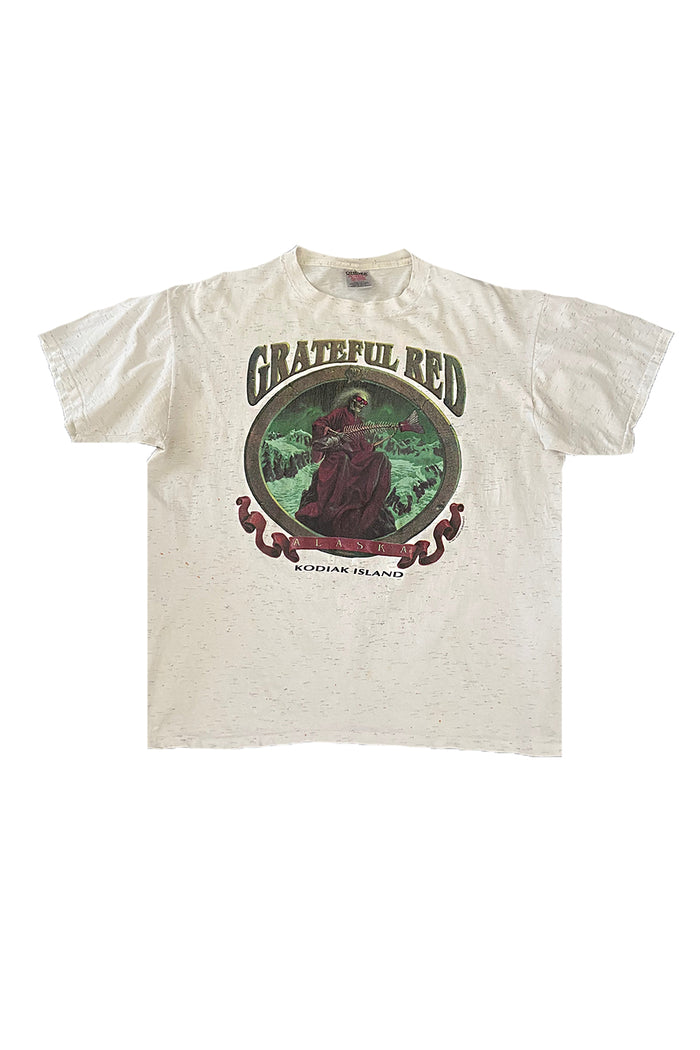 Vintage 90's Grateful Red Alaska T-Shirt ///SOLD///