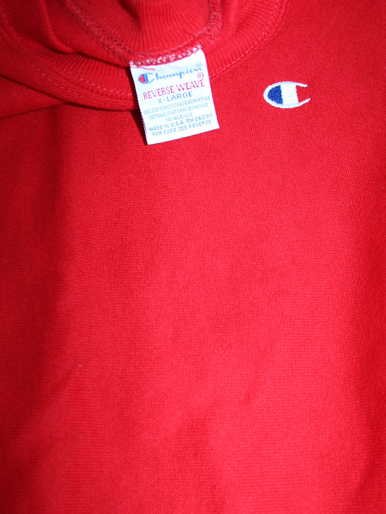 Vintage 90's Deadstock Champion Reverse Weave Red ///SOLD//