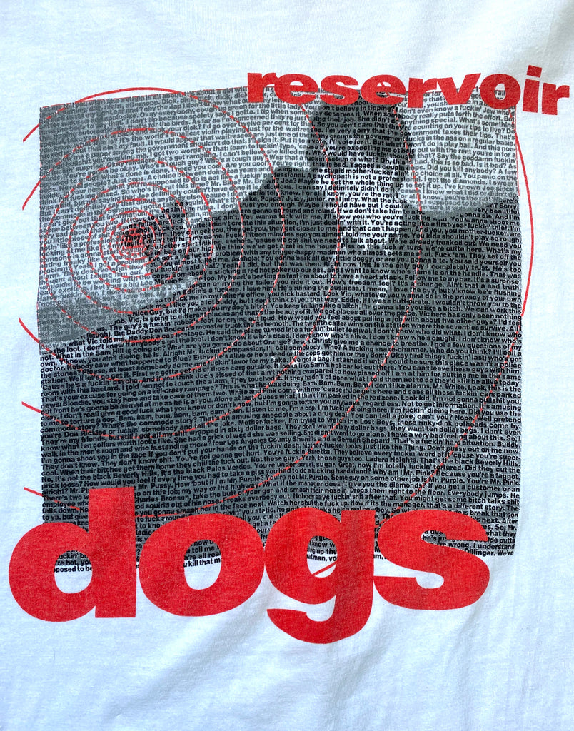 Vintage 90's Reservoir Dogs Movie T-Shirt ///SOLD///