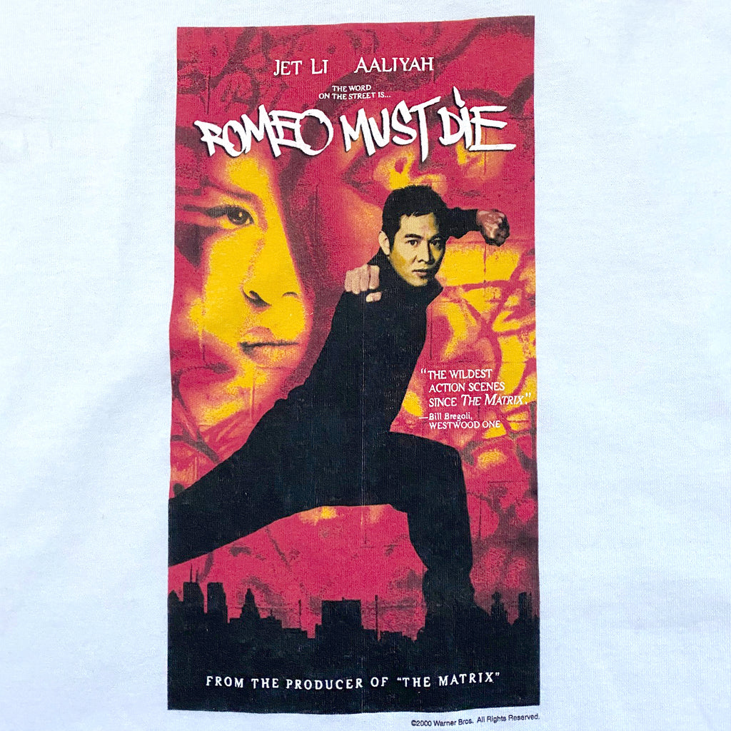 Vintage 2000's Romeo Must Die Movie T-shirt ///SOLD///