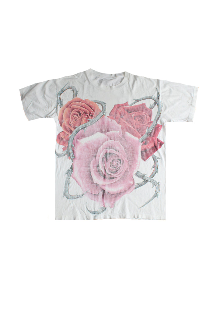 Vintage 90's Jerry Garcia Roses in Memorium T-shirt ///SOLD///