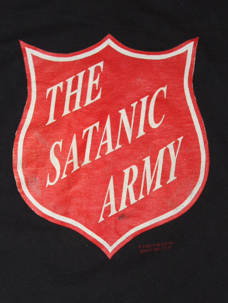 Vintage 90's Marilyn Manson The Satanic Army T-shirt