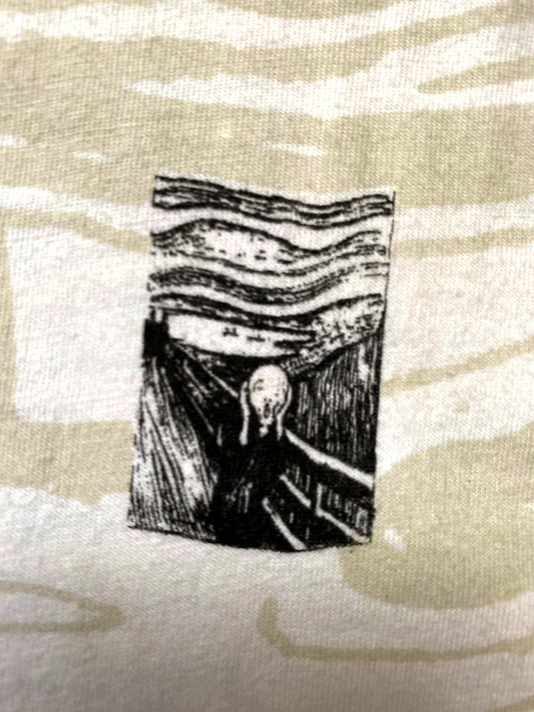 Vintage 90's E. Munch The Scream All Over Print T-Shirt ///SOLD///