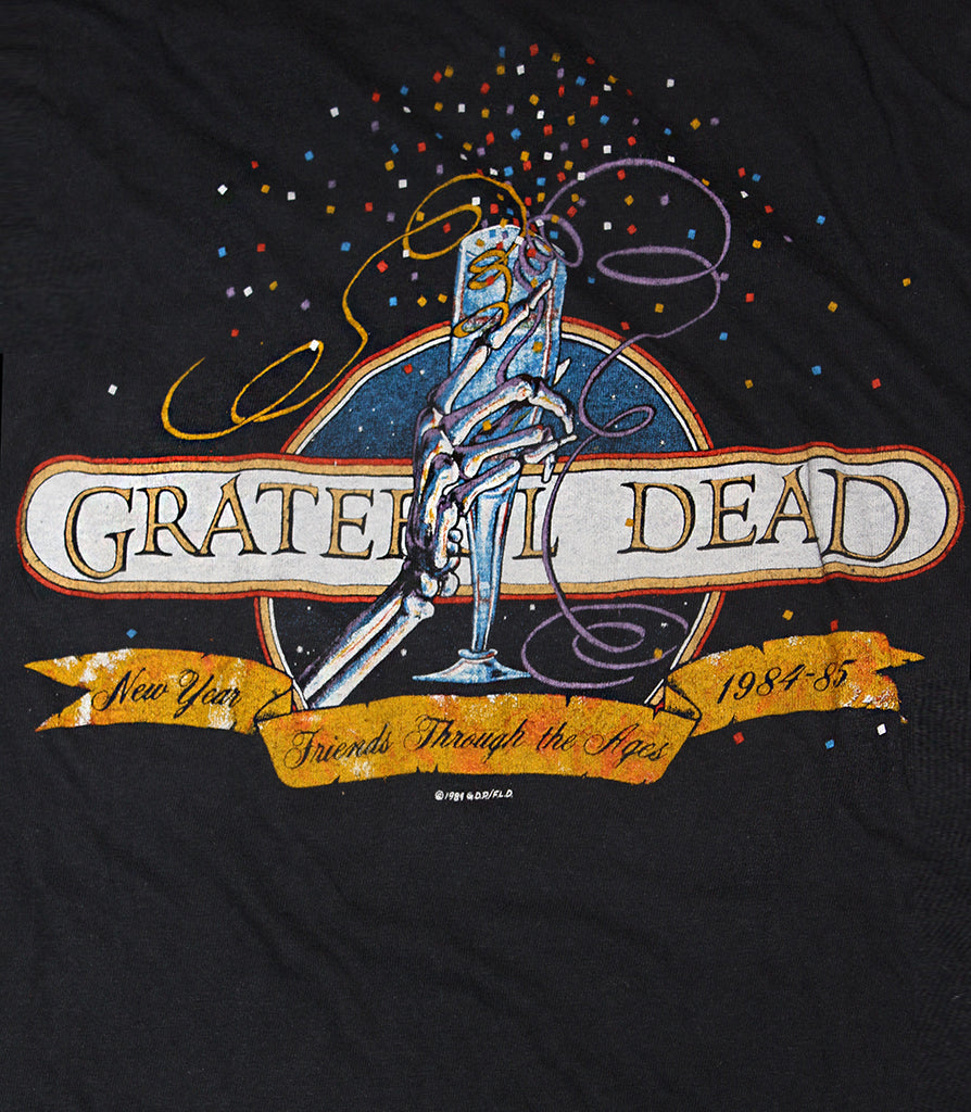 Vintage 80's Grateful Dead  New Year SF T-Shirt