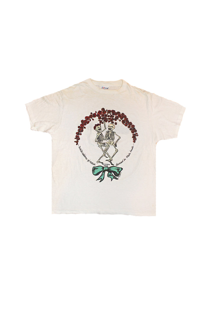 1984 grateful dead skull and roses vintage t-shirt