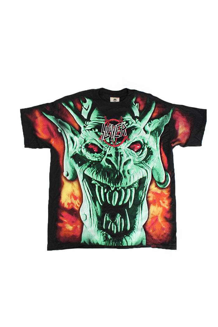 Vintage Deadstock 90's Slayer All Over Print T-shirt