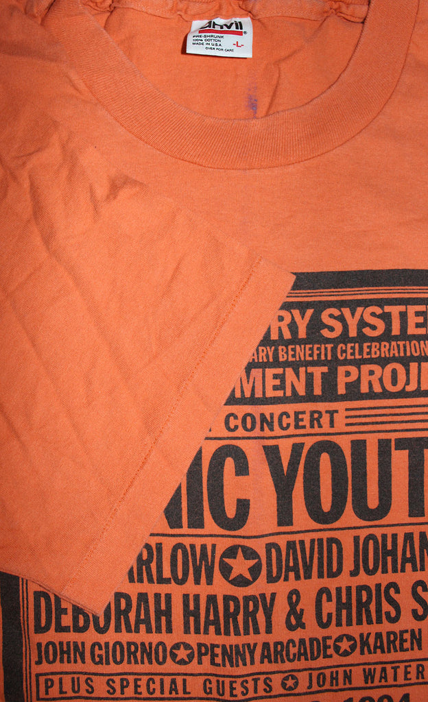 Vintage 90's Sonic Youth Concert Beacon Theatre T-Shirt ///SOLD///