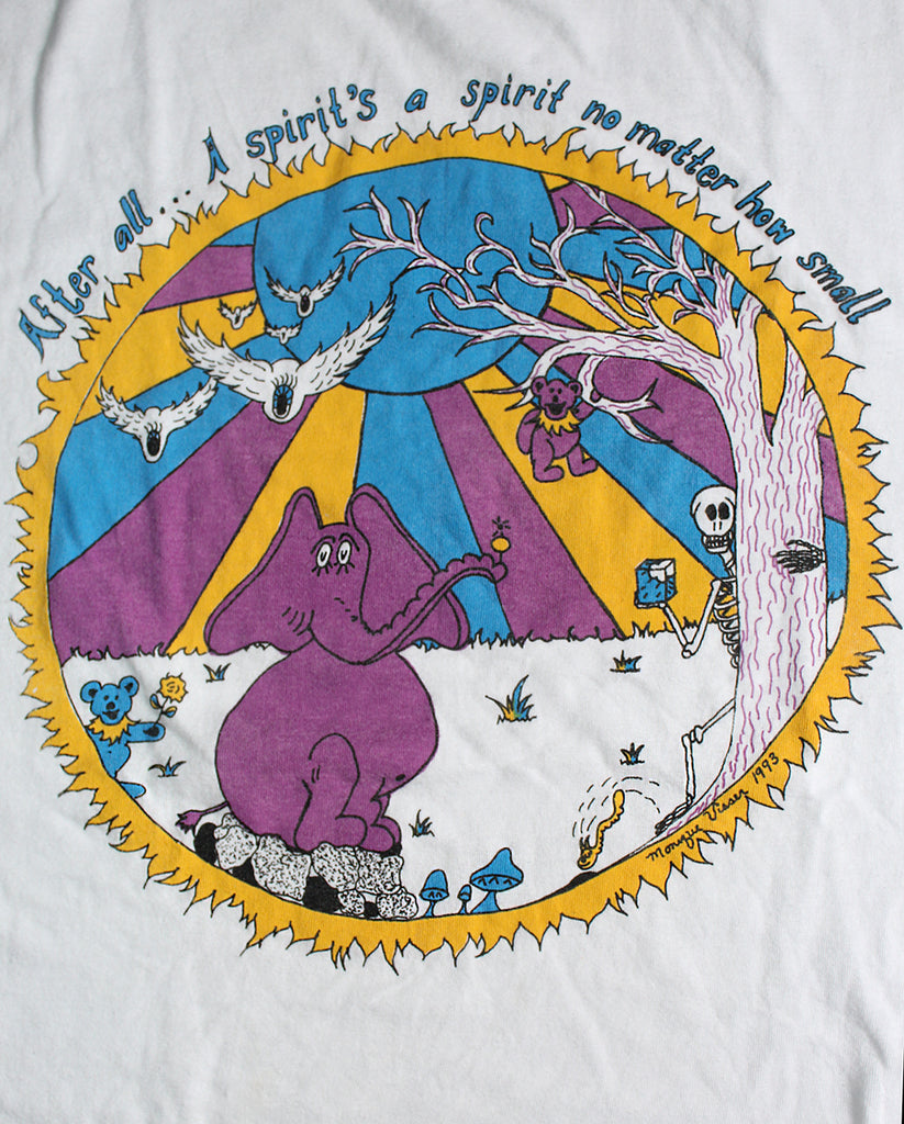 Vintage 90's Grateful Dead Monique Visser Art T-Shirt