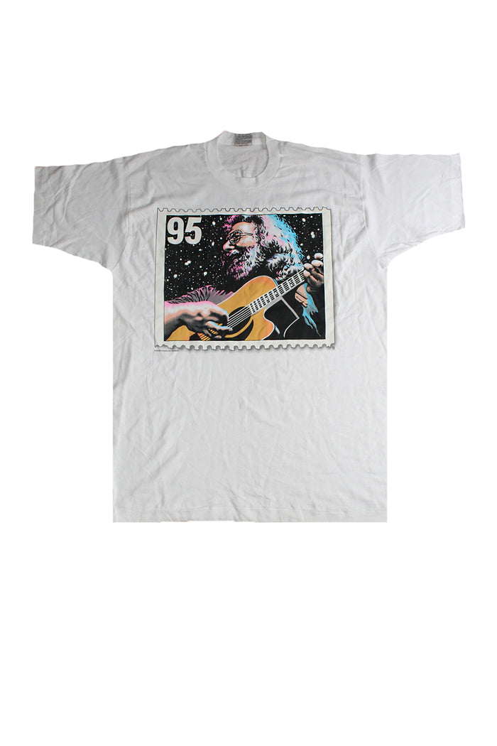 Vintage Deadstock 90's Jerry Garcia Estate Stamp T-shirt