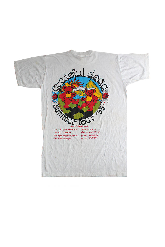 Vintage Deadstock 90's Grateful Dead Summer Tour 95' T-Shirt