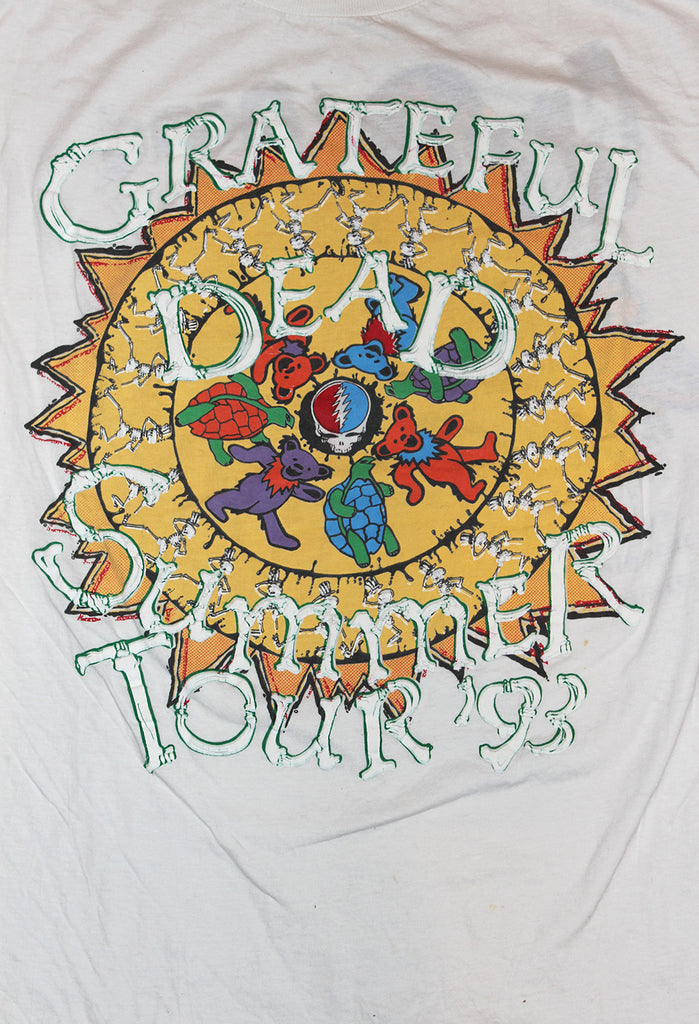 Vintage 90's Grateful Dead Summer Tour T-Shirt
