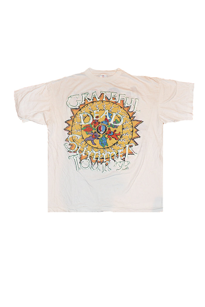 grateful dead summer tour t-shirt