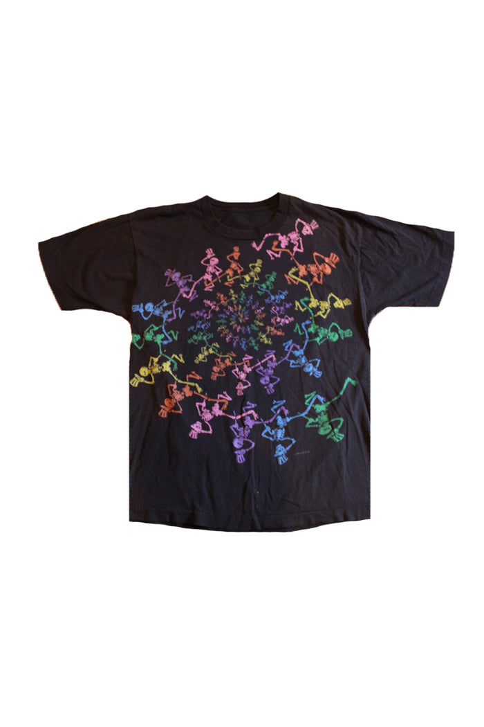 Vintage 90's Grateful Dead Rainbow Spiral T-Shirt