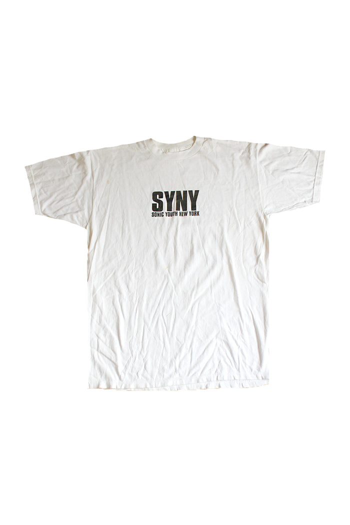 vintage sonic youth t-shirt syny