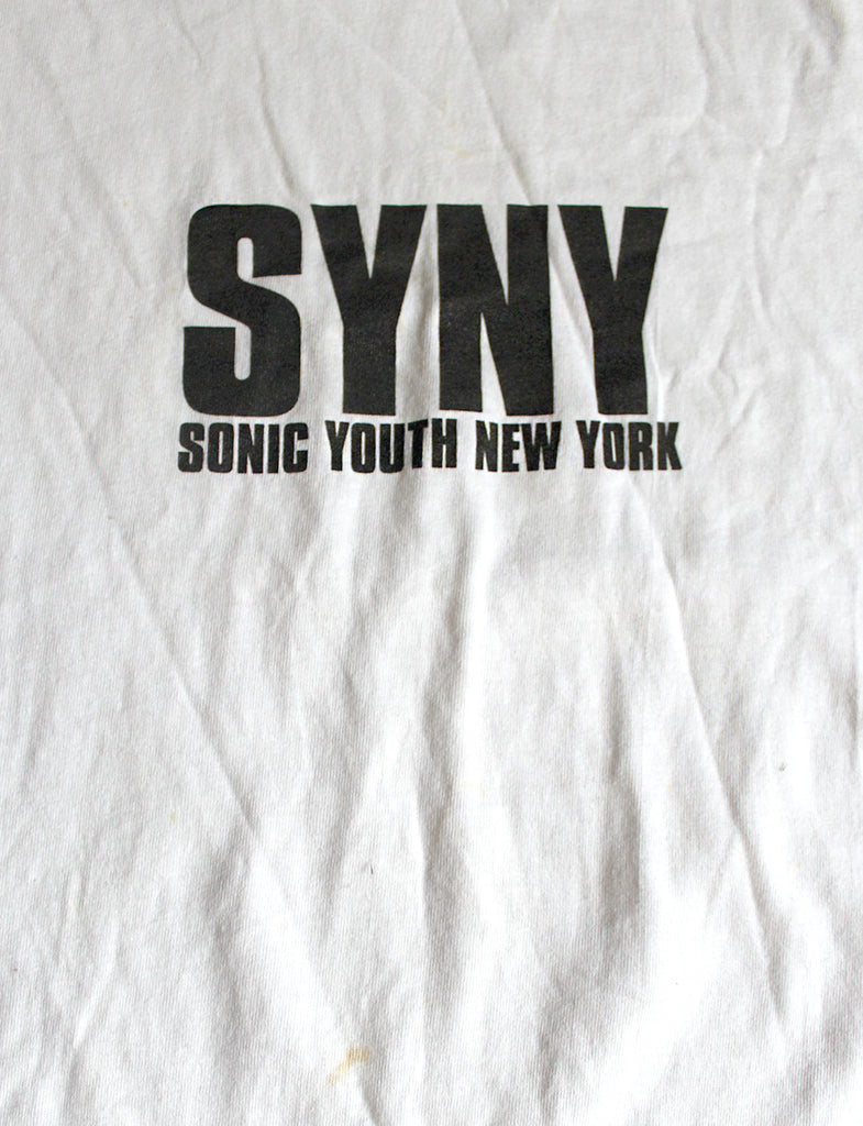 Vintage 90's Deadstock Sonic Youth New York (DKNY Spoof) T-Shirt ///SOLD///